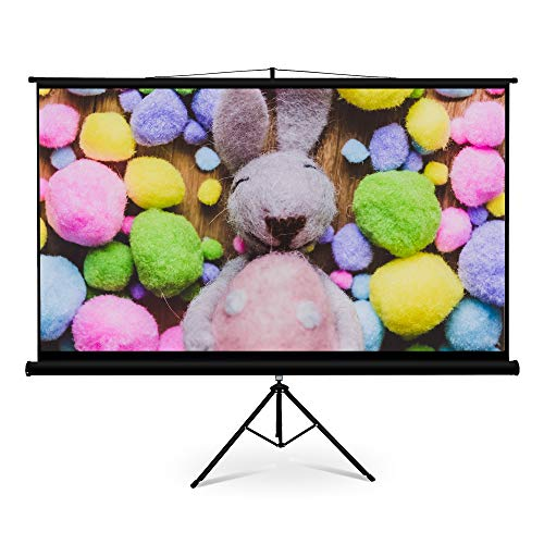 FurniTure Projector Screen 100 Inch 16:9 Portable Projector Screen Projection Screen Projector Screen Tripod Anti-Cease 160° Viewing Angle Support Home Theater Indoor - Furniture Projector