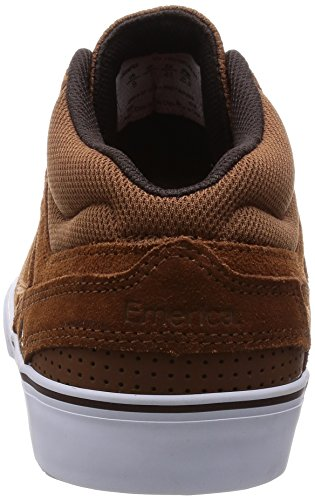 Emerica Men's Westgate Mid Vulc Skate Shoe Brown/White for cheap cheap online shopping online sale online discount excellent outlet official low price RKGRJ