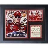 """Legends Never Die""""Dale Earnhardt Sr. and Dale Earnhardt Jr."""" Framed Photo Collage, 11 x 14-Inch"""