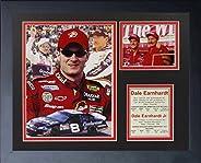 Legends Never Die Dale Earnhardt Sr. and Dale Earnhardt Jr. Framed Photo Collage, 11 x 14-Inch