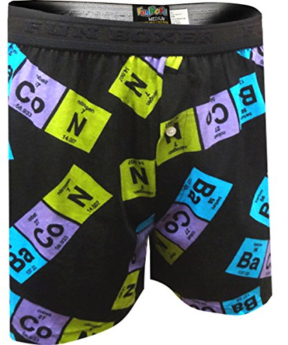 Periodic Table Bacon Boxer Shorts product image