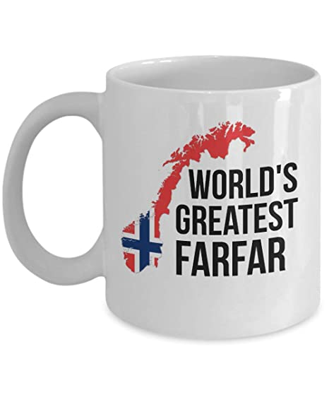 Amazon.com: Taza de café de Noruega con la bandera noruega ...