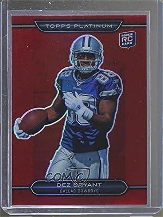 best loved 32089 04fc9 Amazon.com: Dez Bryant #23/25 (Football Card) 2010 Topps ...