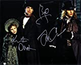 Interview with the Vampire with Brad Pitt - Tom Cruise & Kirsten Dunst Signed Autographed 8 X 10 Reprint Photo - Mint Condition