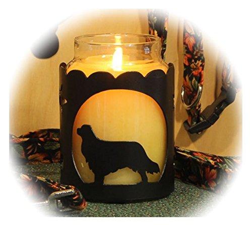 PupLife Cavalier King Charles Dog Breed Jar Candle Holder
