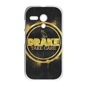 Motorola G Cell Phone Case White Drake Ovo Owl qzht