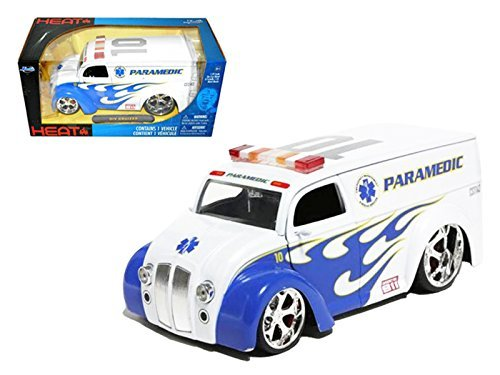 Jada 96237 Div Cruiser Bus Paramedics Ambulance 1/24 for sale  Delivered anywhere in Canada