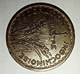 1947 1 Piastre (French Union Coin)