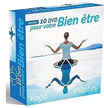 Coffret bien être Yoga - Pilates [Francia] [DVD]: Amazon.es ...