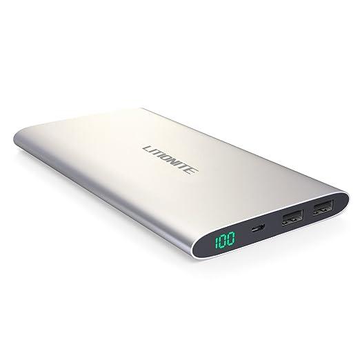 5 opinioni per Litionite® Plasma Mini 12000mAh Batteria Esterna Portatile Ultra Sottile