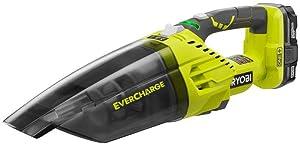 Ryobi ZRP714K 18V One+ Evercharge Cordless Hand Vacuum Kit (Renewed)
