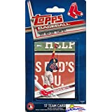 Boston Red Sox 2017 Topps Baseball EXCLUSIVE Special Limited Edition 17 Card Complete Team Set with Andrew Benintendi, Mookie Betts,Chris Sale & More Stars & Rookies! Shipped in Bubble Mailer! WOWZZER