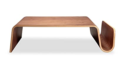 Amazoncom Kardiel Scando Midcentury Modern Plywood Coffee Table - Scando coffee table