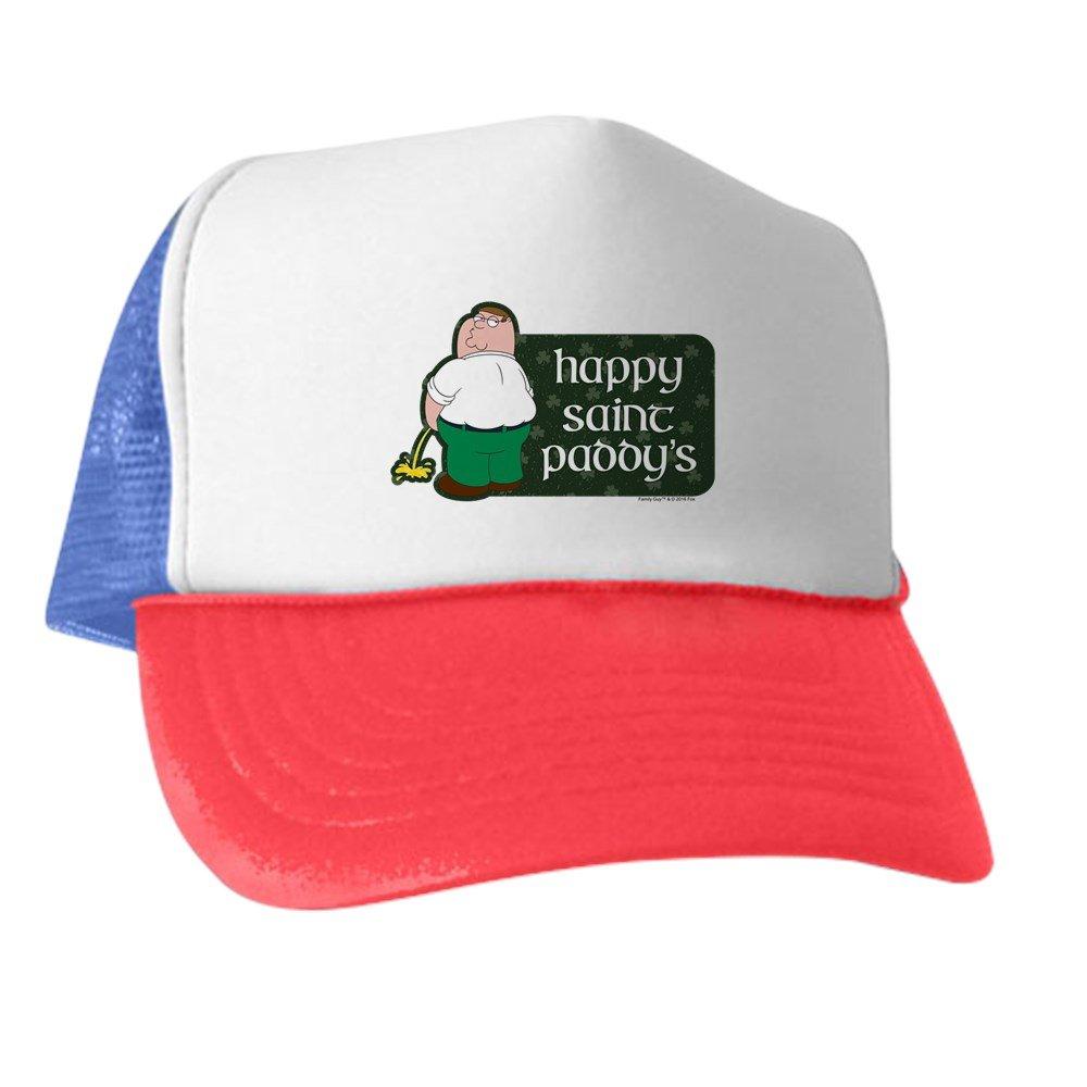 Amazon.com  CafePress - Family Guy Happy Paddy s - Trucker Hat ... cf47b889acbd
