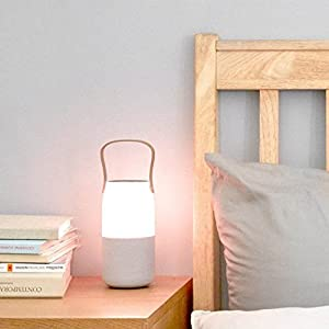 Samsung Bottle Design Wireless Speaker, w/ interchangeable multi-color LED light and Wireless Charging