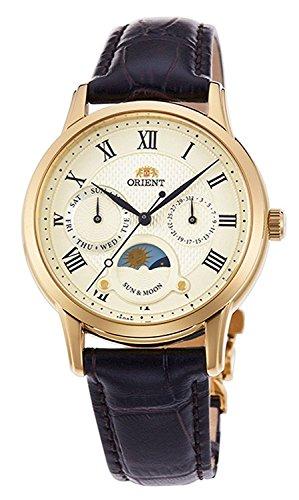 Orient Sun and Moon White Dial Ladies Watch RA-KA0003S10B