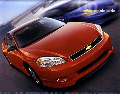 2006 Chevrolet Monte Carlo Sales Brochure Literature Book Advertisement Options