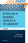 Destruction of Hazardous Chemicals in...