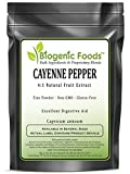 Cayenne Pepper - 4:1 Natural Fruit Fine Powder Extract (Capsicum annuum), 1kg