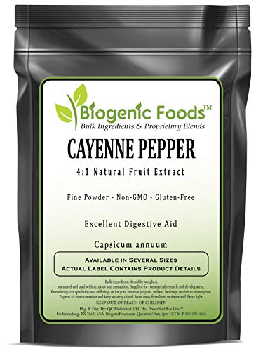 Cayenne Pepper - 4:1 Natural Fruit Fine Powder Extract (Capsicum annuum), 2 kg by Biogenic Foods (Image #2)