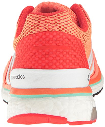 White Adios 3 6 shock white Orange Shoes Running Sun Glow Yellow Adidas Adizero Us M Red ZRq5ww