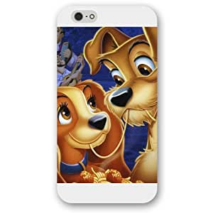 """Diy White Hard Plastic Disney Lady and the Tramp Diy For SamSung Note 3 Case Cover Only fit Diy For SamSung Note 3 Case Cover """""""