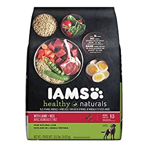 Amazon.com: Iams Healthy Naturals Adult With Lamb And Rice