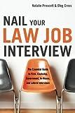 Nail Your Law Job Interview, Natalie Prescott, 1601630530