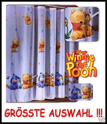Kinderzimmer Gardine Winnie Pooh Babys 2 208L x 370B: Amazon.de: Baby