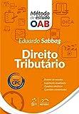 capa de Direito Tributário - Série Método de Estudo OAB