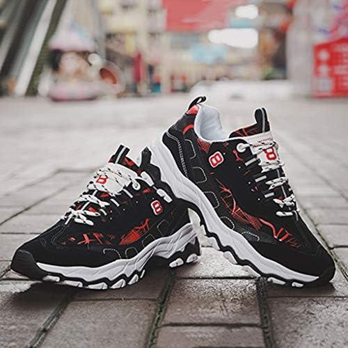 メンズ通気性のハイキングシューズスニーカートレッキングはすべての年齢や季節に適しアンチスリップ軽量靴シューズ (Color : Red, Size : 39)