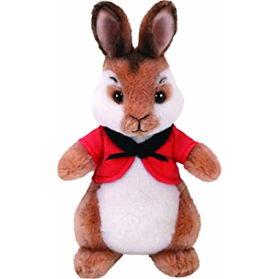 Ty FLOPSY - Rabbit red Bolero reg, 8.5 inches: Toys & Games