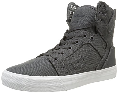 (Supra Skytop, Charcoal Ballistic/Nylon, Men's 8.5, Women's 10 D - Medium )