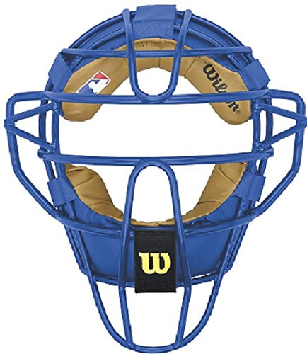 Blue Catchers - Wilson Dyna-Lite Steel Catcher's Facemask, Royal Blue