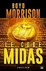 Une aventure de Tyler Locke, tome 2 : Code Midas par Morrison