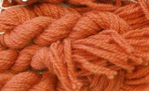 Paternayan Needlepoint 3-ply Wool Yarn-Color-863-Copper-this listing is for 2 mini 8-yd skeins