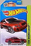 Hot Wheels, 2015 HW Workshop, Bentley Continential Supersports [Maroon] 192/250