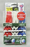 Daiya Tomahawk NEO Golf Tee Red/White/Blue''As seen on TV''