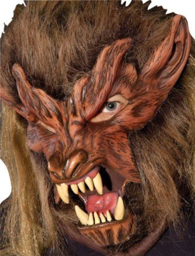 Lone Wolf Mask (Lone Wolf Moving Mouth Action Mask)