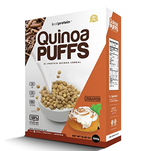 iEatProtein Organic & Gluten Free Cereal Packed with