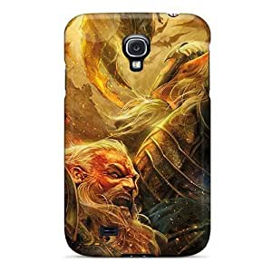 Galaxy S4 Case Cover - Slim Fit Tpu Protector Shock Absorbent Case (lord Of The Rings)