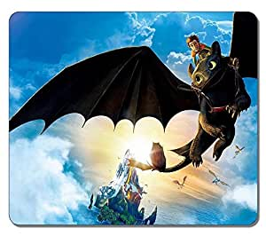 Customized Textured Surface Water Resistent Large Mousepad Hiccup And Toothless High Quality Non-Slip Best Large Gaming Pad Mouse Pads