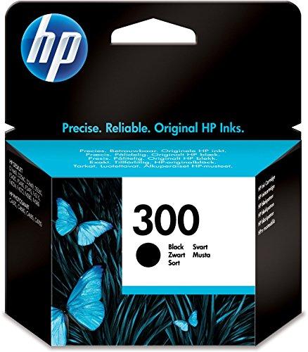 HP 300 Schwarz Original Druckerpatrone für HP Deskjet, HP ENVY, HP Photosmart