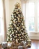 Balsam Hill Vermont White Spruce Premium Prelit Artificial Christmas...