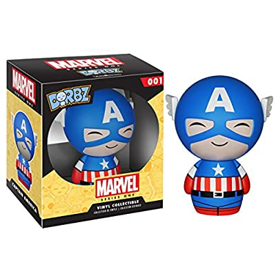 Funko Dorbz: Marvel - Captain America Vinyl Figure: Funko Dorbz:: Toys & Games