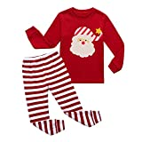 Little Boys Girls' Pajamas Sets Toddler Santa