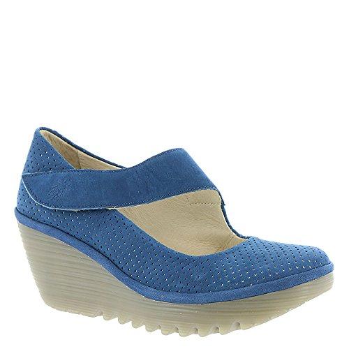 Mouche London Yeon Femmes Sandale 38 M Eu Bleu