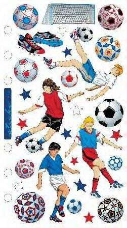 - Soccer Scrapbook Stickers (SPAT22)