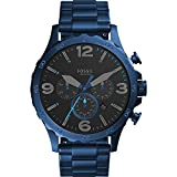 Fossil Nate 50mm Chronograph Stainless Steel Watch