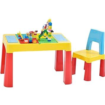 CTC Juego de Mesa Y Silla de Plástico para Niños - Kindergarten ...